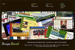 Design Detail Web Production - professional web site development: domain, design, hosting, maintenance; copywriting, copy editing, marketing consultation - small to mid-size business & non-profit organizations - Statesville & Iredell County, North Carolina & Apple Valley & Knox County, Ohio